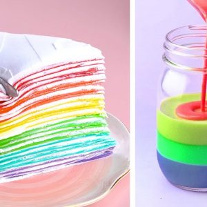 Top 10 Trending Rainbow Cake Decorating Tutorials | Most Satisfying Rainbow Cake Compilation