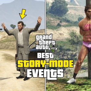 GTA 5 - Best Story Mode Events! (TOP 10)