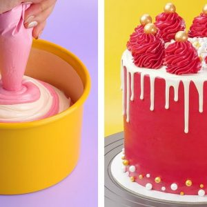 Top 10 Perfect Cake Decorating Ideas | Most Satisfying Colorful Cake Compilation Video | So Tasty