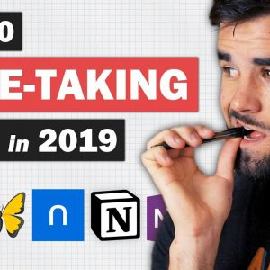 The 10 Best Note-Taking Apps in 2019