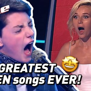 TOP 10 | AMAZING QUEEN COVERS in The Voice Kids! 🤩