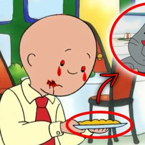 Top 10 Scary Caillou Urban Legends - Part 2