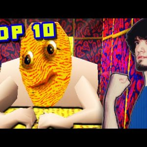 Top 10 TRIPPIEST Video Games! - PBG