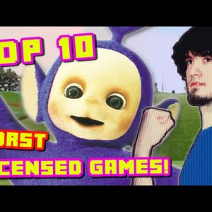 Top 10 WORST Licensed Games! - PBG