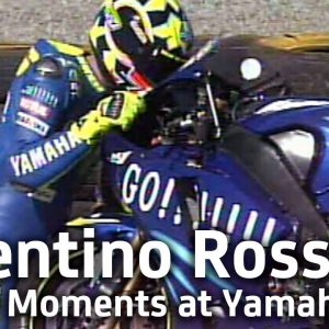 Valentino Rossi's Top 10 Moments at Yamaha Factory Racing