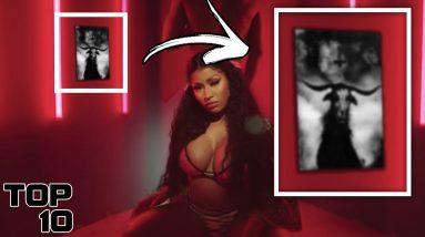 Top 10 Dark Hidden Messages In Rap Songs